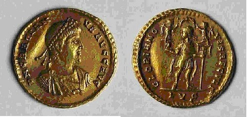 QUERY: GRATIANUS SOLIDUS FROM THE LYONS MINT