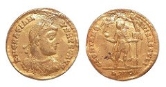 CORRECTION: IMAGES OF GRATIANUS SOLIDUS FROM THE LYONS MINT