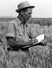 DR. NORMAN E. BORLAUG'S MEDALS ON DISPLAY