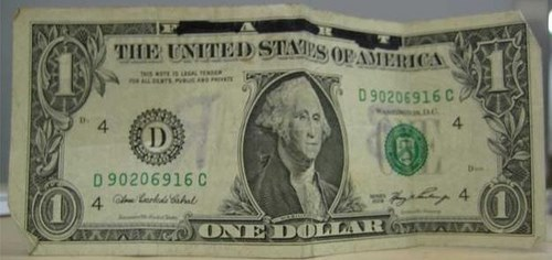 DOLLAR BILL GRAFFITI