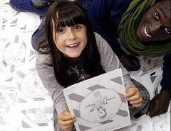 NINE-YEAR-OLD GIRL DESIGNS COIN FOR LONDON 2012 OLYMPICS