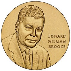 CONGRESSIONAL GOLD MEDAL AWARDED TO SENATOR BROOKE