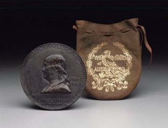 MORE ON LEATHER MEDAL POUCHES CONNECTED TO LOUIS ST. GAUDENS