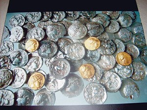 BULGARIAN MUSEUM SEEKS FUNDS TO DISPLAY ANCIENT COIN HOARD