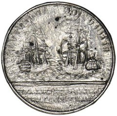 1772 RESOLUTION AND ADVENTURE MEDAL CLICH�S
