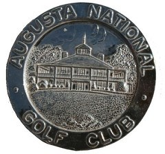 AUGUSTA NATIONAL GOLF CLUB MASTERS TOURNAMENT MEDALS