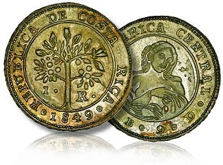 FEATURED WEB PAGE: FREDERICK MAYER COLLECTION OF COSTA RICAN SILVER COINS