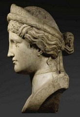 SOTHEBY'S SELLS ANCIENT BUST SAID TO BE MODEL FOR BARBER'S COINAGE