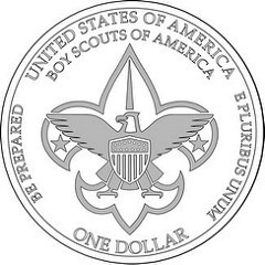 THE 2010 BOY SCOUTS OF AMERICA CENTENNIAL SILVER DOLLAR