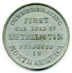 MORE ON THE PITTSBURG AND MEXICAN TIN MINING COMPANY MEDAL
