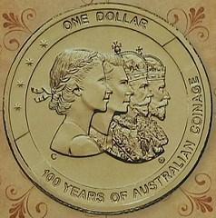 ROYAL AUSTRALIAN MINT STRIKES CENTENNIAL COIN