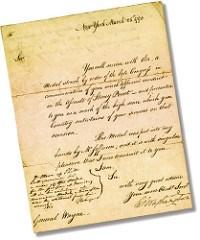 JAMES MEASE, GEORGE WASHINGTON AND ANTHONY WAYNE'S STONEY POINT MEDAL