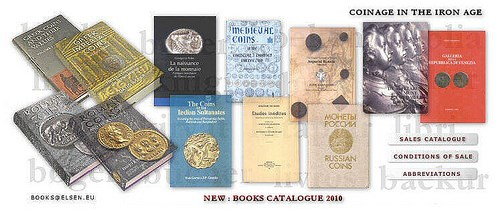 2010 JEAN ELSEN NUMISMATIC LITERATURE FIXED PRICE LIST AVAILABLE