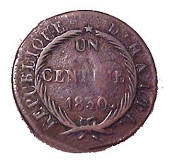 FEATURED WEB SITE: THE HA�TIAN NUMISMATIC SOCIETY