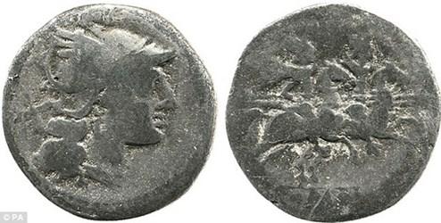 OLDEST ROMAN COIN EVER FOUND IN BRITAIN