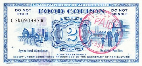 FOOD STAMPS AS MONEY