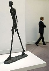 GIACOMETTI SCULPTURE PICTURED ON BANKNOTE NETS $104 MILLION