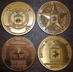 SOME MORE CENTRAL INTELLIGENCE AGENCY MEDALS
