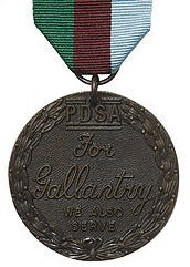 DICKIN MEDAL TO BE PRESENTED TO BOMB-SNIFFING DOG