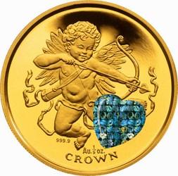 2005 ISLE OF MAN GOLD CROWN