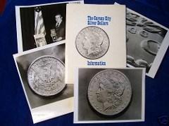 1974 CARSON CITY DOLLAR GSA SALE PRESS KIT SOLD