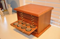 RAY WILLIAMS' NEW COIN CABINET
