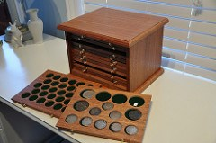 MORE ON COIN CABINETS BY CRAIG MCDONALD