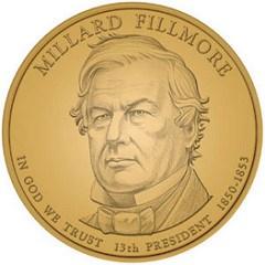 MILLARD FILLMORE PRESIDENTIAL DOLLAR COIN LAUNCH CEREMONY