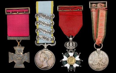 FIRST EVER VICTORIA CROSS MEDAL TO BE SOLD