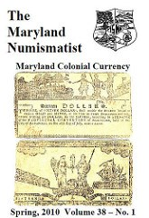 THE MARYLAND NUMISMATIST SPRING 2010