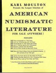 KARL MOULTON'S SPRING/SUMMER 2010 LITERATURE PRICE LIST