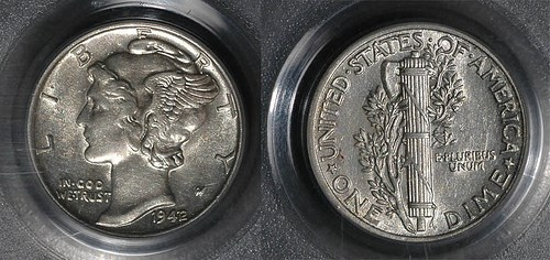 THE 1942/41 OVERDATE DIMES: NOT DOUBLED DIES