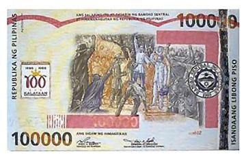 THE WORLD'S LARGEST BANKNOTES