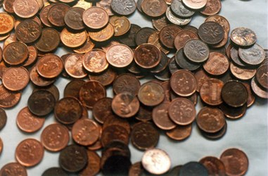 CANADIAN PARLIAMENT STUDIES ABOLISHING CENT COIN