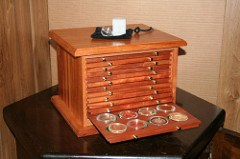 JEFFREY LAPLANTE ON COIN CABINETS