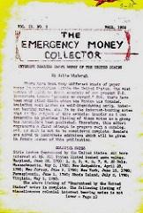 THE EMERGENCY MONEY COLLECTOR, VOL. 2 NO. 3