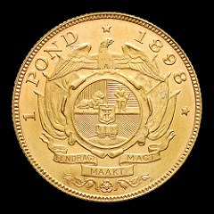 THE SOUTH AFRICAN 1898 POND SINGLE 9