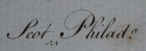 FRANCIS SHALLUS, PHILADELPHIA ENGRAVER