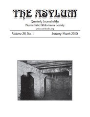 THE ASYLUM JANUARY�MARCH 2010 (VOLUME 28, NO. 1)