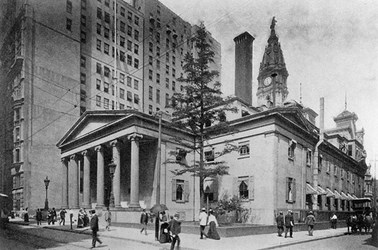 THE COLUMNS OF THE THIRD PHILADELPHIA MINT