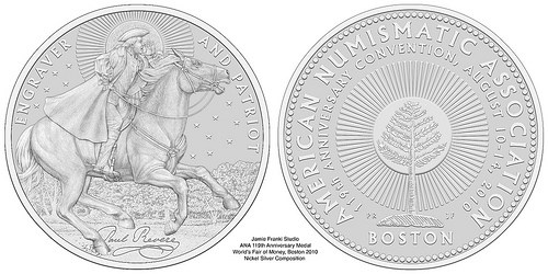 2010 BOSTON ANA MEDAL FEATURES PAUL REVERE