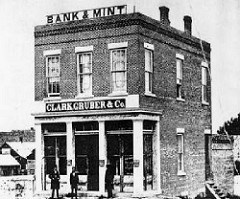THE UNITED STATES BRANCH MINT AT DENVER, COLORADO TERRITORY