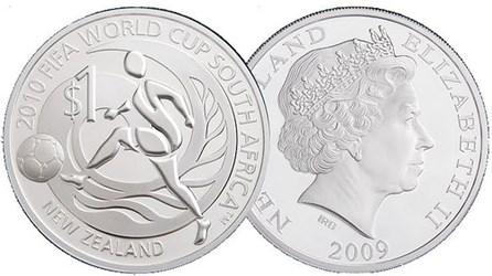 2010 WORLD CUP COMMEMORATIVE COINS
