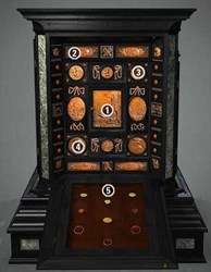 A GERMAN COLLECTOR'S CABINET FROM 1630