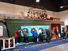 SHIP OF GOLD EXHIBIT TO DOCK AT BOSTON ANA CONVENTION