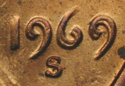 1969-S DOUBLED DIE CENT DISCOVERY