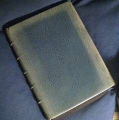 QUERY: RESTORING LEATHER BOOK COVERS