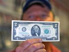 NEW HAMPSHIRE MERCHANT GETS ATTENTION WITH SELDOM SEEN DENOMINATIONS