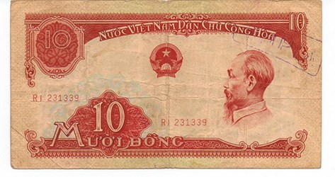 QUERY: VIETNAMESE BANKNOTE OVERSTAMP TRANSLATION SOUGHT