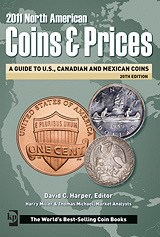 NEW BOOK: 2011 NORTH AMERICAN COINS & PRICES